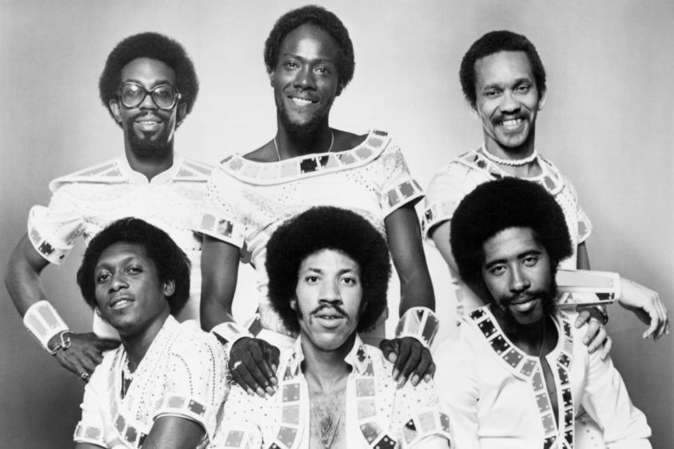 CIRCA 1970: Photo of Commodores