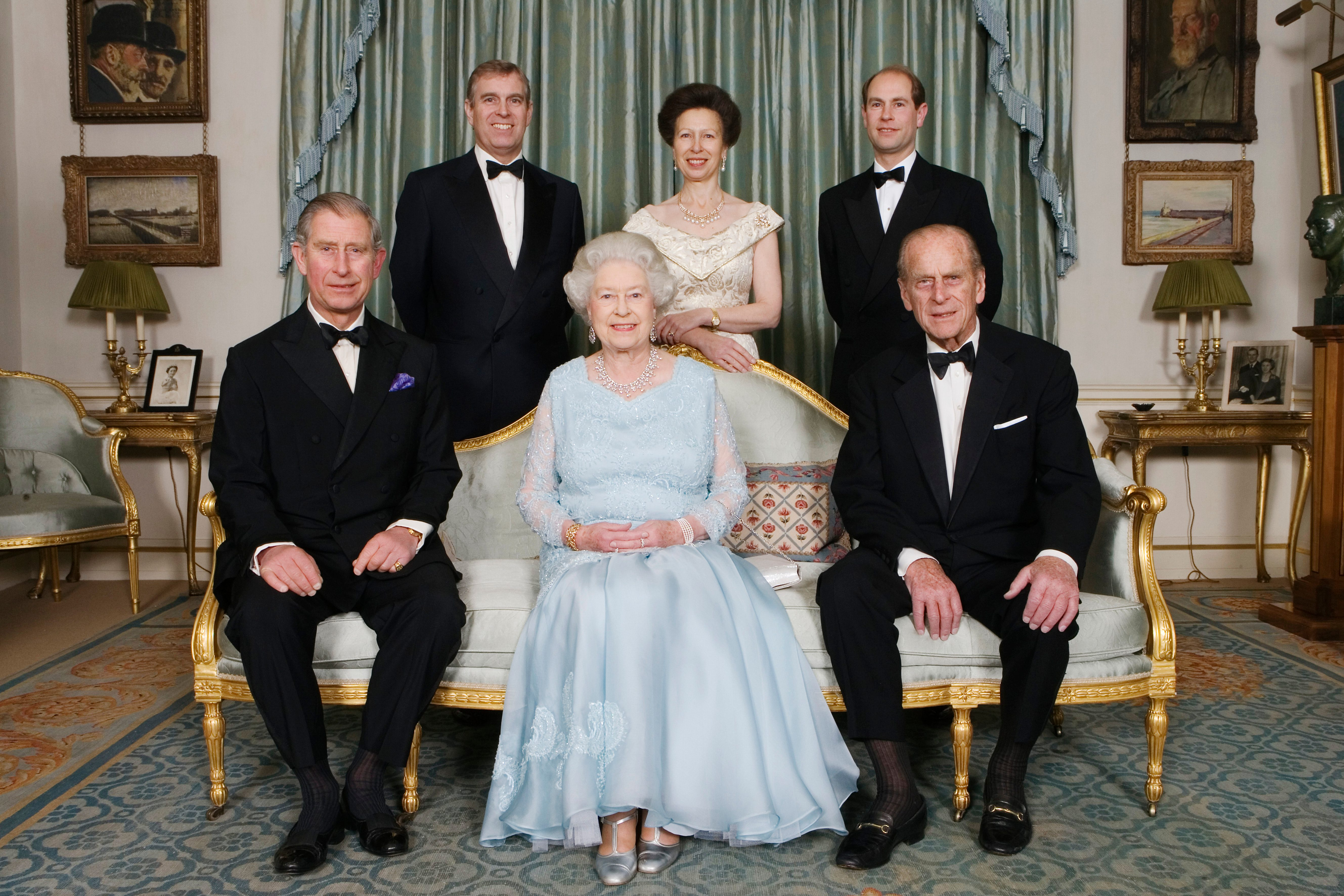 queen elizabeth and the royal immediate family