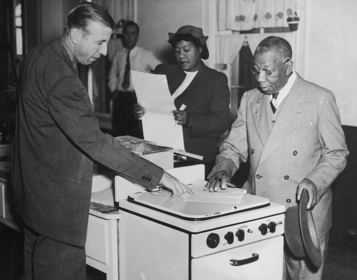 black americans vote for the first time