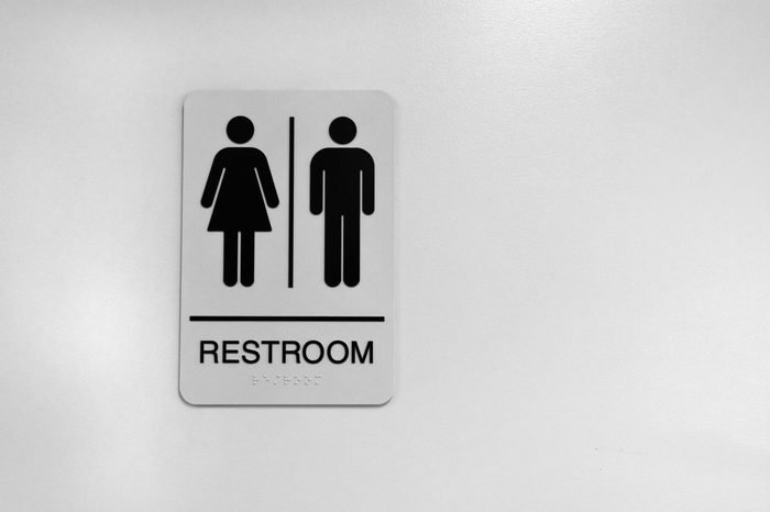 Public Washroom Sign bathroom
