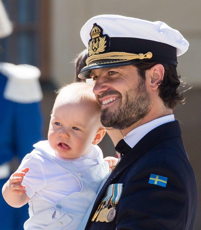 Prince Carl Phillip of Sweden and Prince Gabriel of Sweden