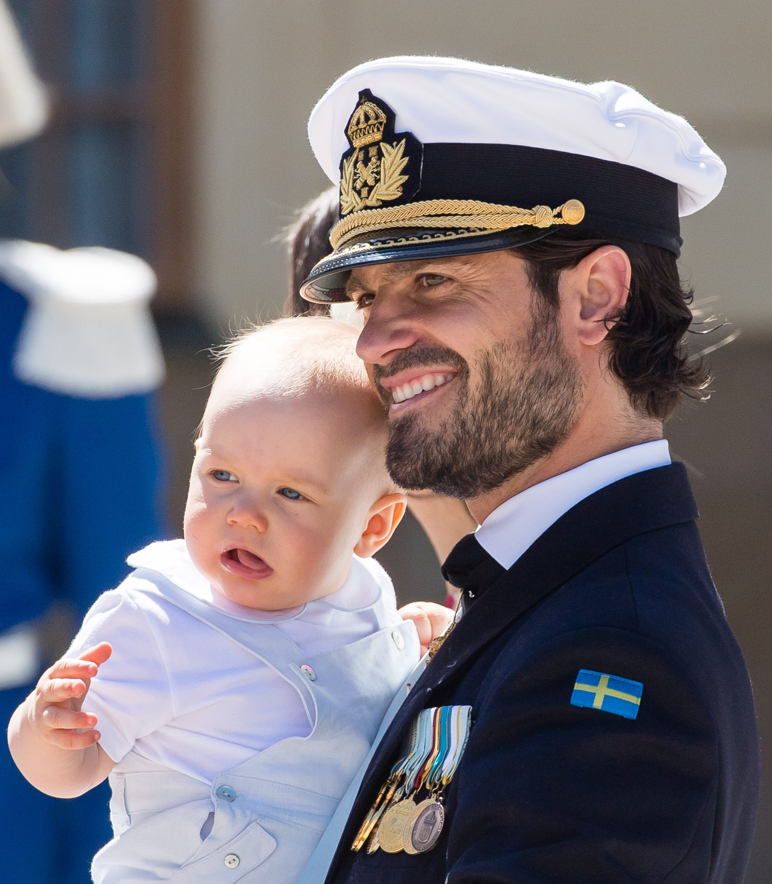 Prince Carl Phillip of Sweden and Prince Gabriel of Sweden