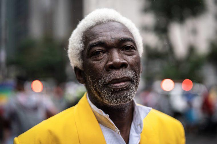 portrait of a man. black history month.