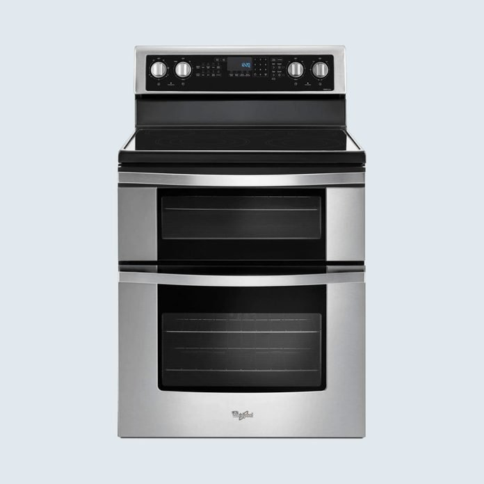 Whirlpool Double Oven Electric Range with True Convection