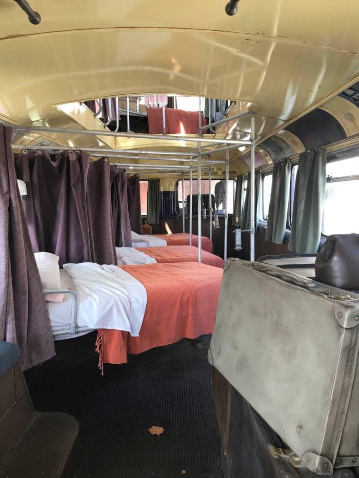 inside the knight bus wizarding world harry potter universal orlando