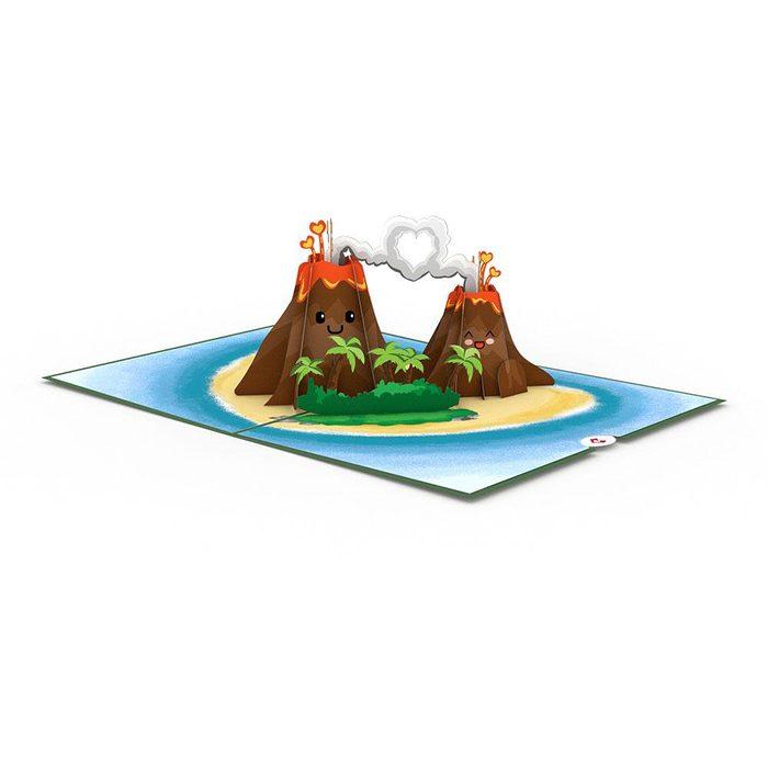 lava pop up card