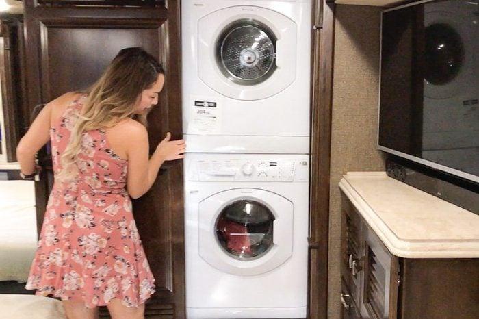 laundry rv