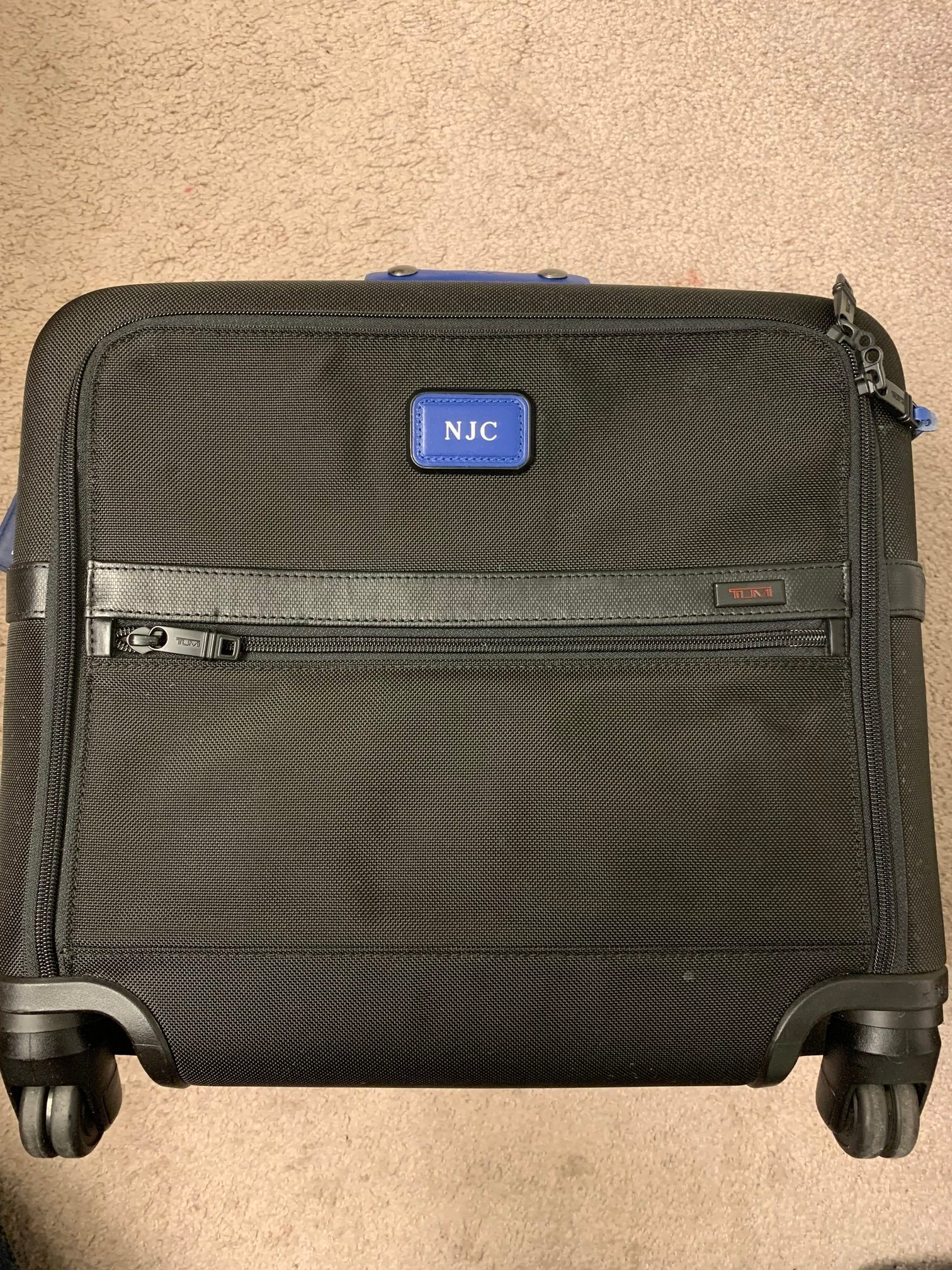 exterior of carry on pack carry on two weeks international travel