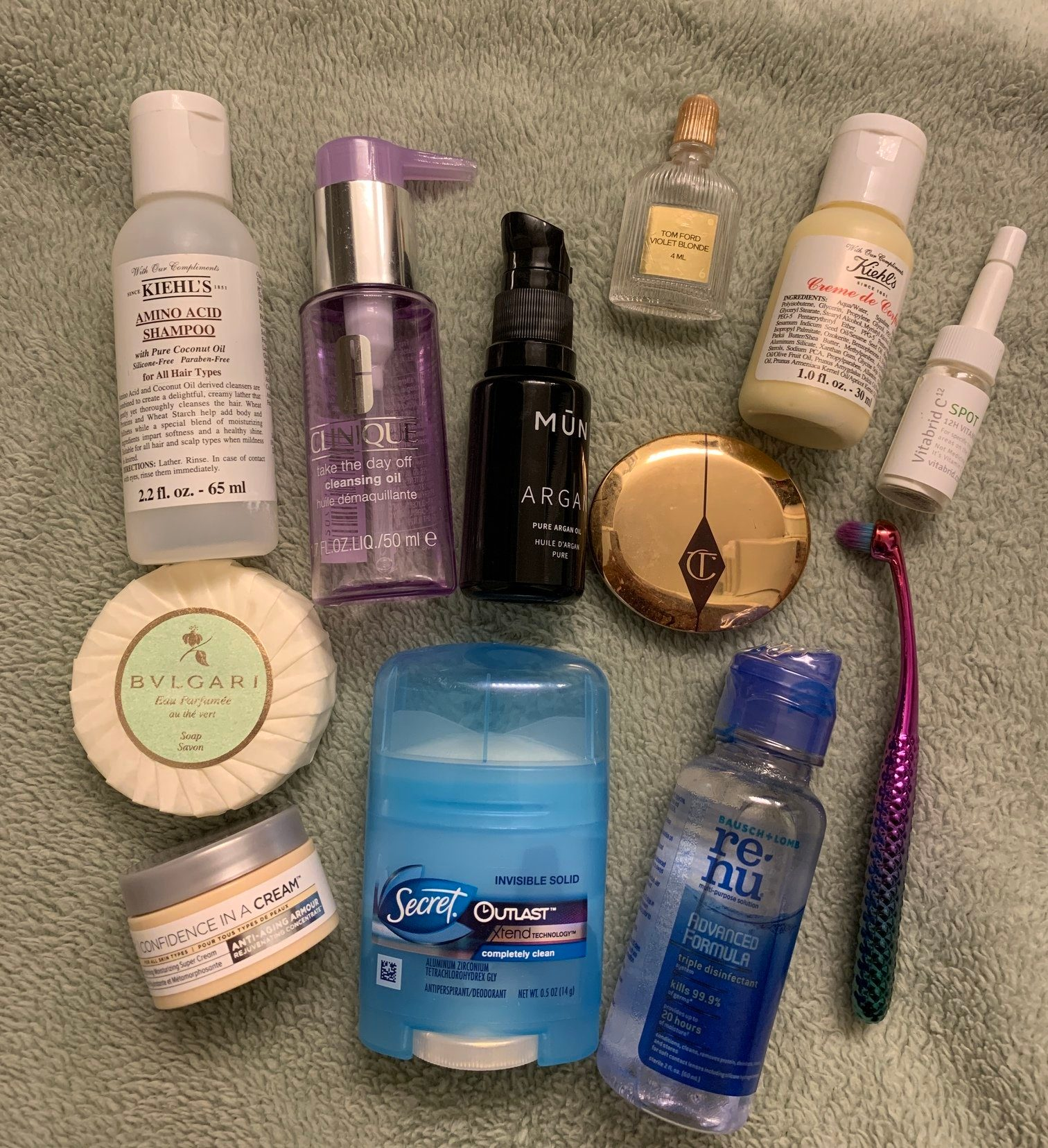 toiletries pack carry on two weeks international travel