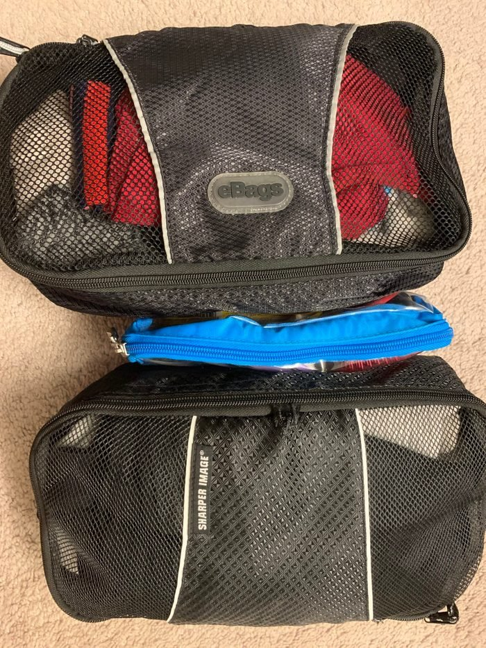 packing cubes pack carry on two weeks international travel