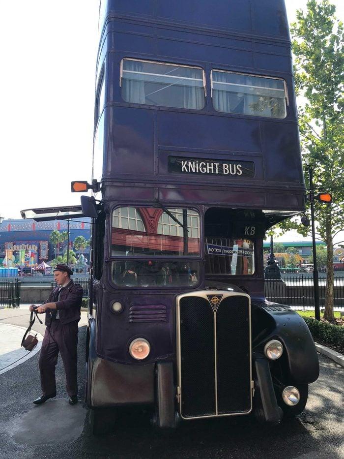knight bus wizarding world harry potter universal orlando