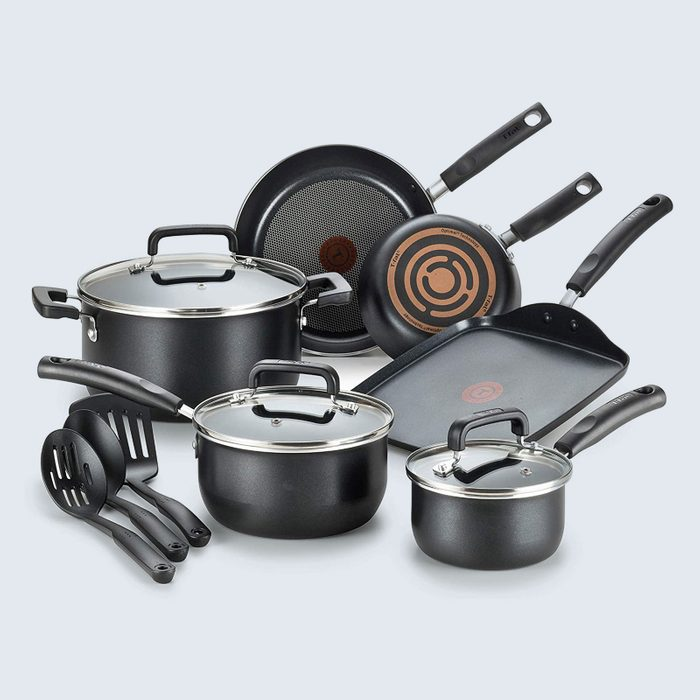 For whipping up a feast: T-fal Signature Nonstick Cookware Set