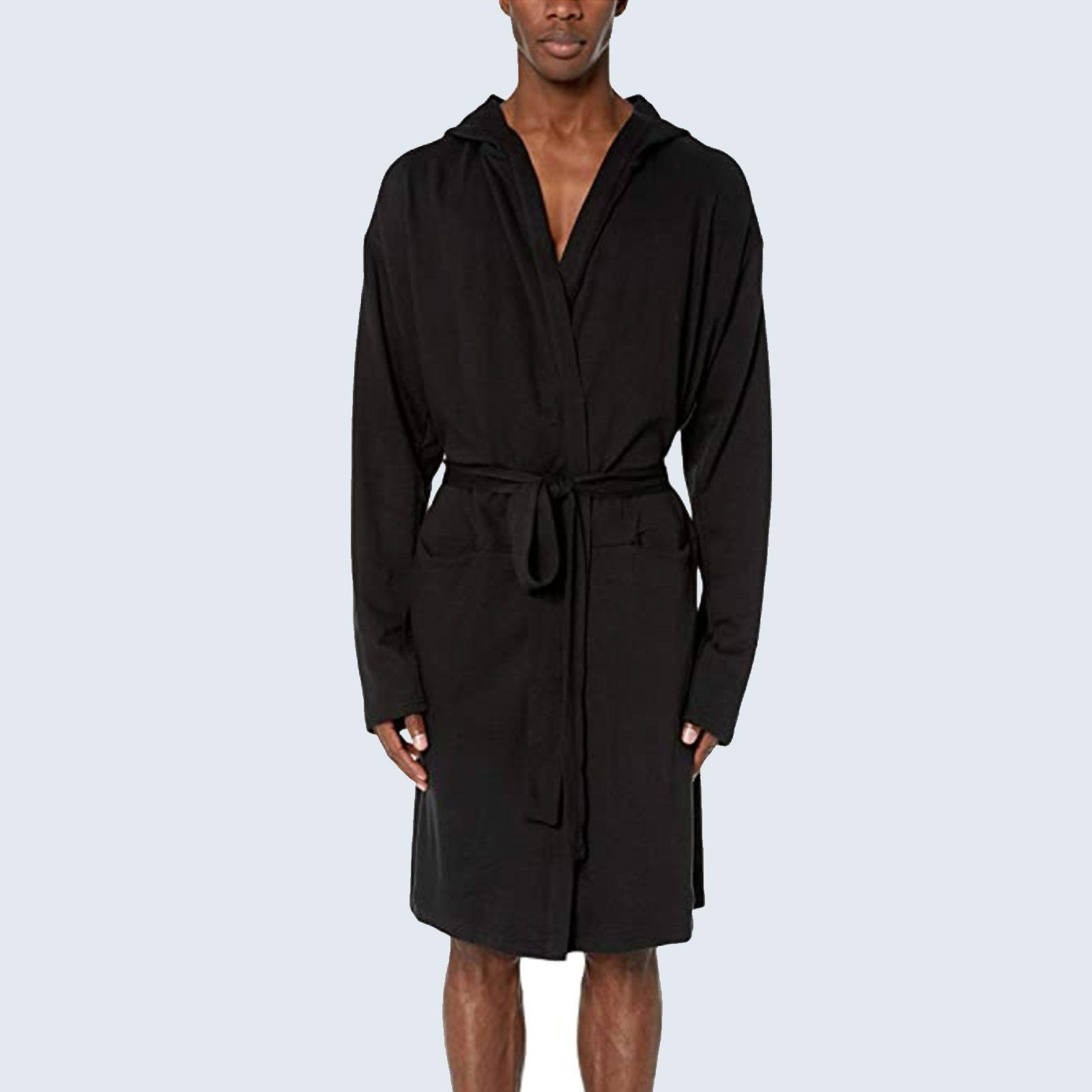 For lazy mornings: 2(X)IST Men's Hooded Robe