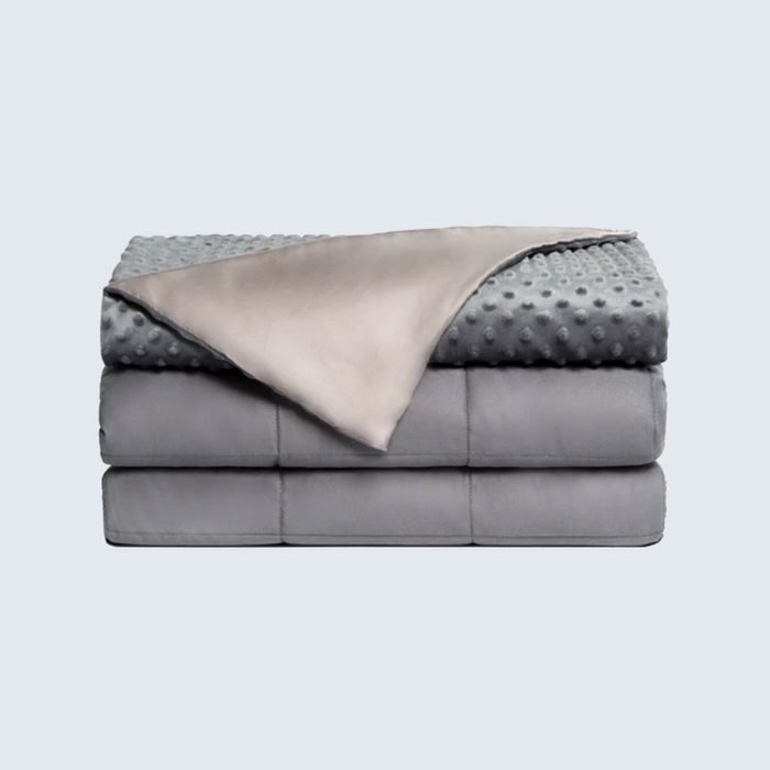 For cozier nights: Brooklyn Bedding Dual Therapy Weighted Blanket