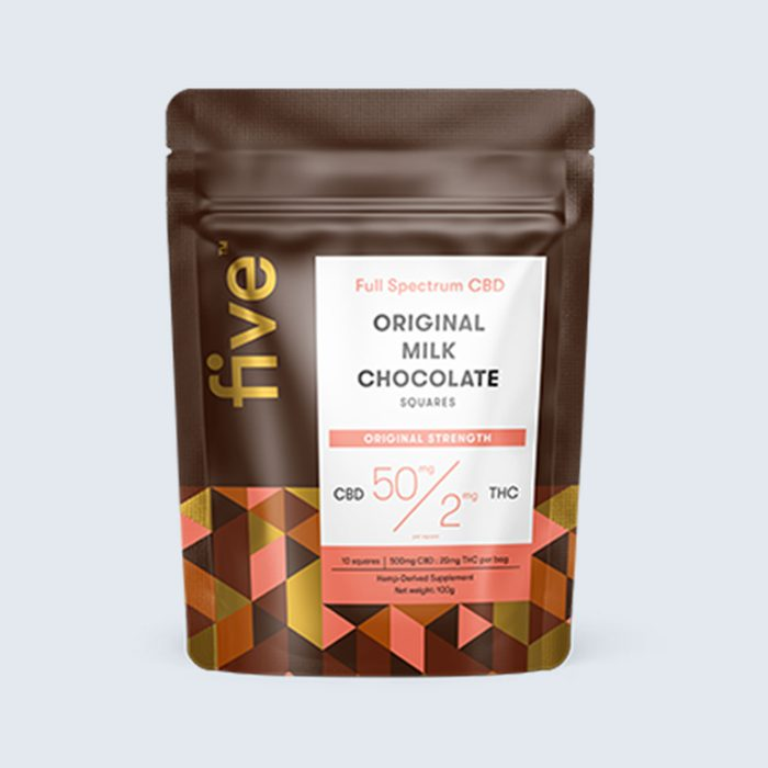 For the chilled-out chocolate lover: Five CBD Chocolates