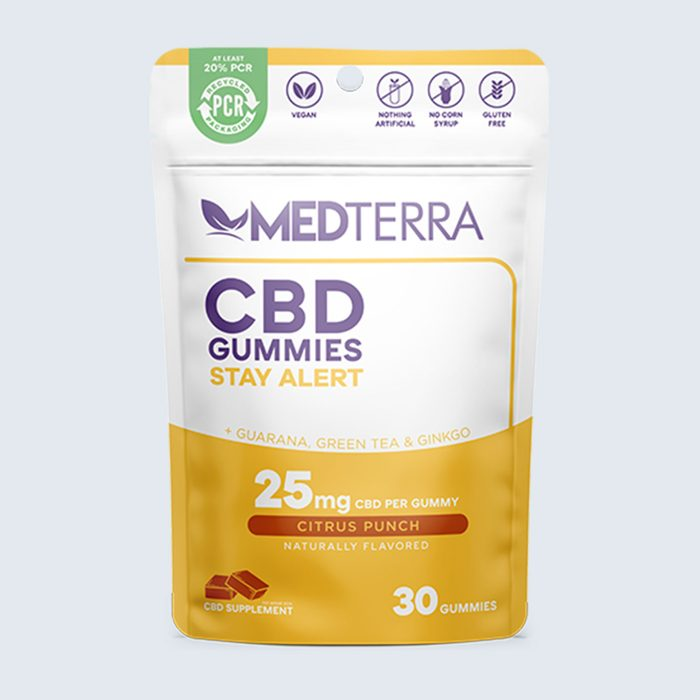 For the one who's glued to Zoom: Medterra Stay Alert CBD Gummies