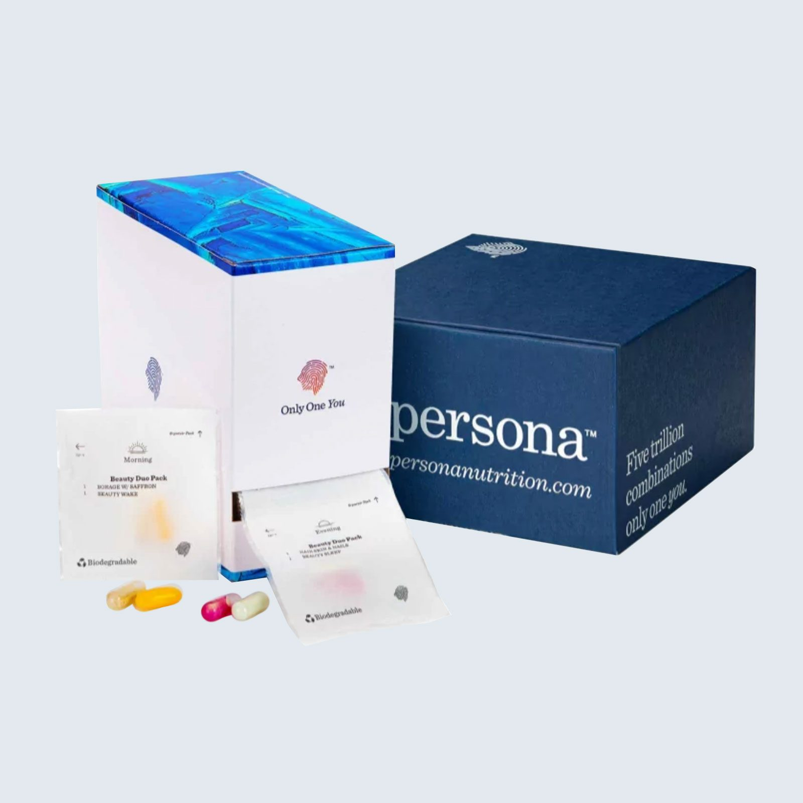 For the health-conscious: Persona Personalized Vitamin Packs