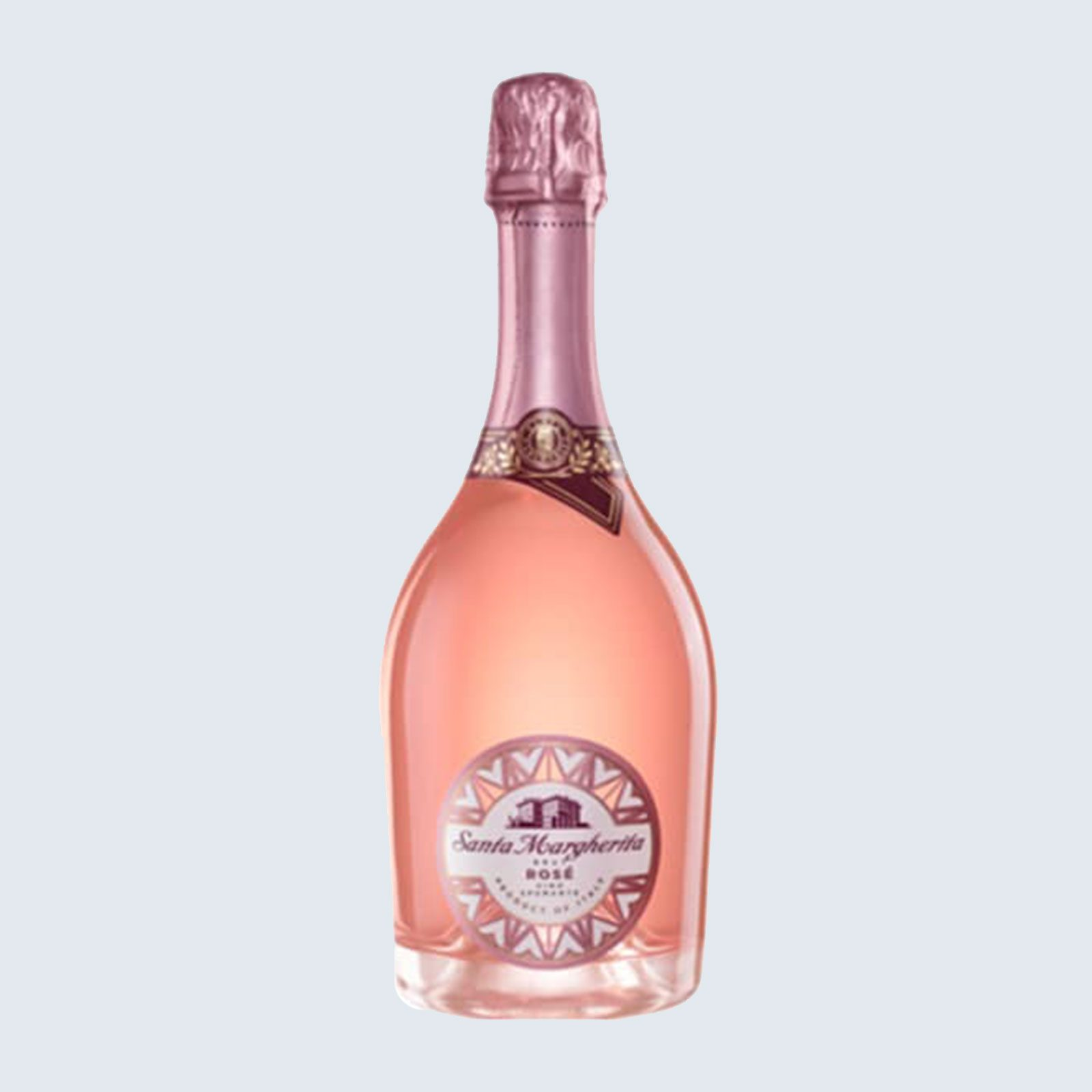 For the bubbliest in the room: Santa Margherita Sparkling Rosé