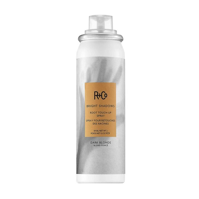 For the friend who always misses her salon appointment: R+Co Bright Shadows Root Touch-Up Spray