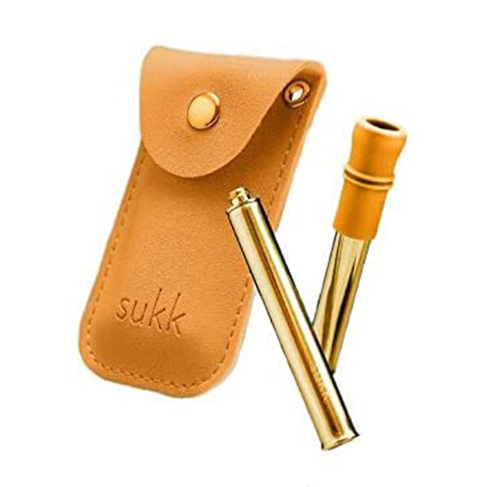 For the eco-conscious: Sukk Stainless Steel Straw