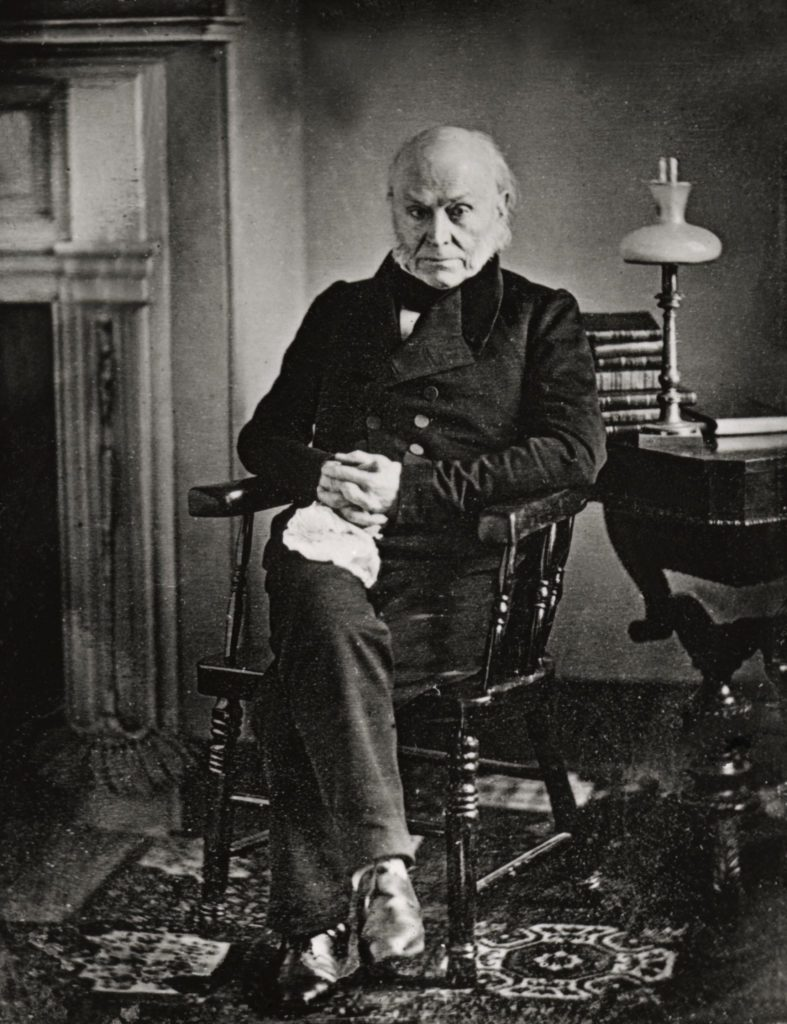 John Quincy ADAMS, 1767-1848, 6th President of the United States of America, 1825-9, daguerrotype by Southworth and Hawes, 1843 Art (Portraits) - various