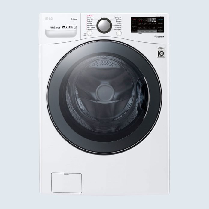 LG Smart Front Load Washer with TurboWash 360 Technology
