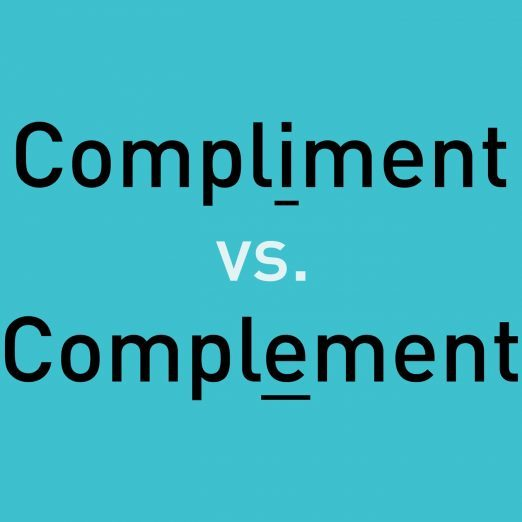 Compliment vs. Complement: What's the Difference?