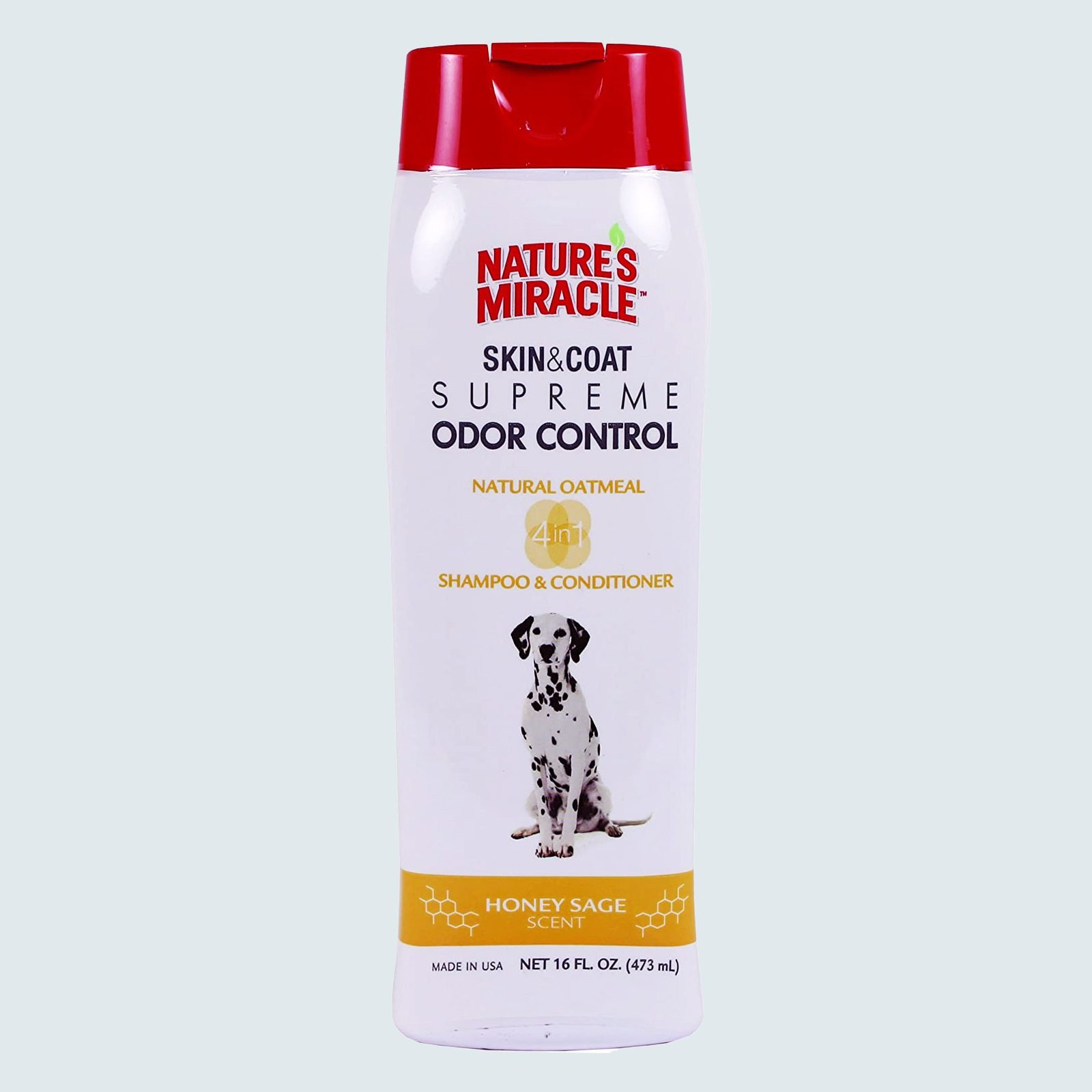 Nature's Miracle Supreme Odor Control Oatmeal Dog Shampoo & Conditioner