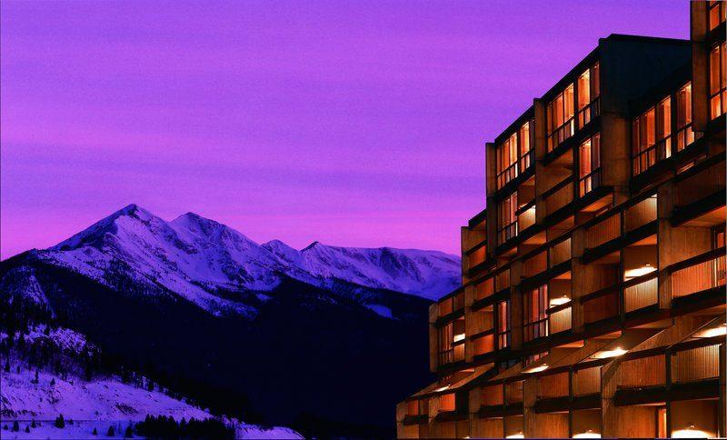 night colorado mountain