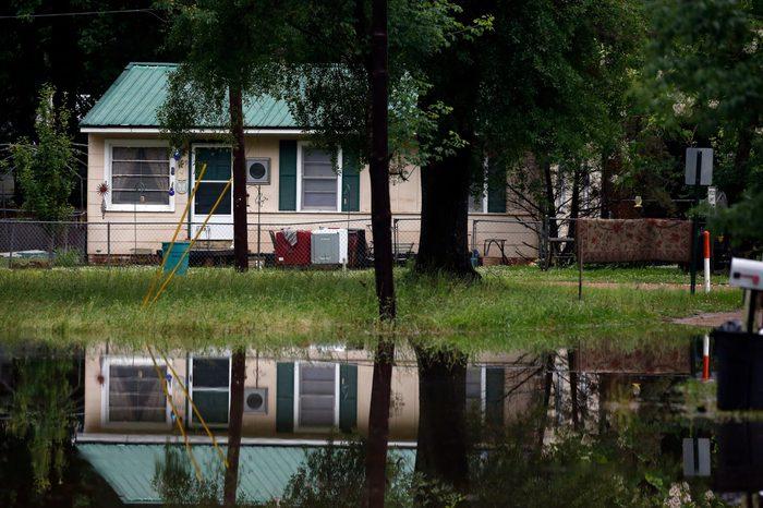 flash flood waters, Strong winds, tornado warnings