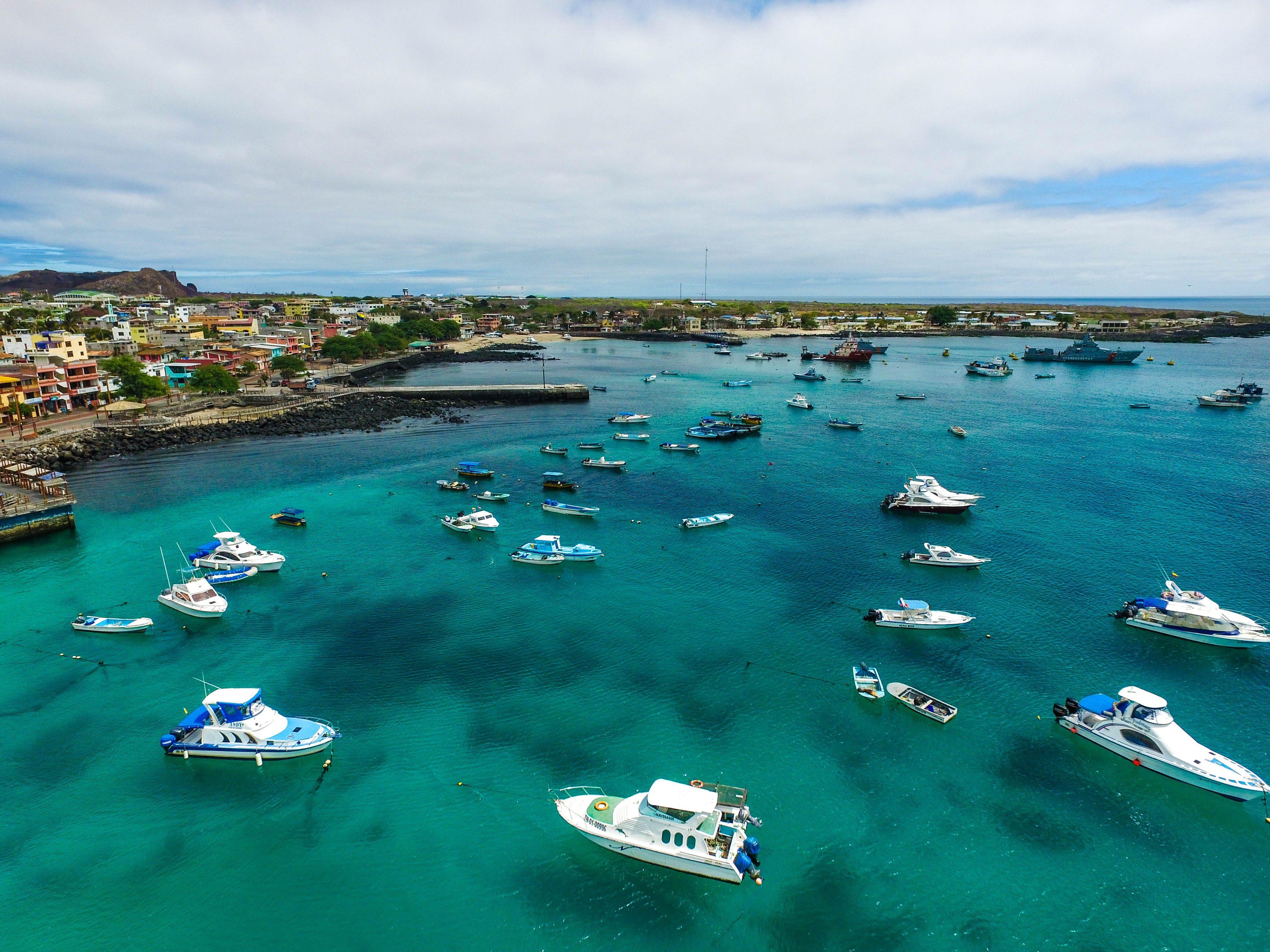 San Cristobal - Galapagos Islands, Ecuador. Aerial Shot