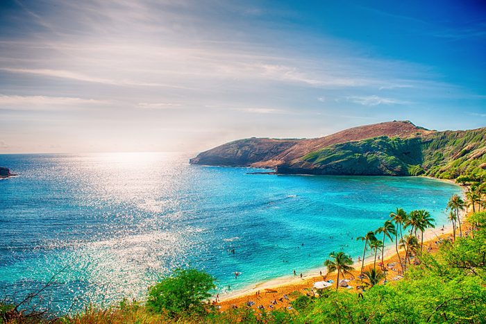 Hawaii background photo