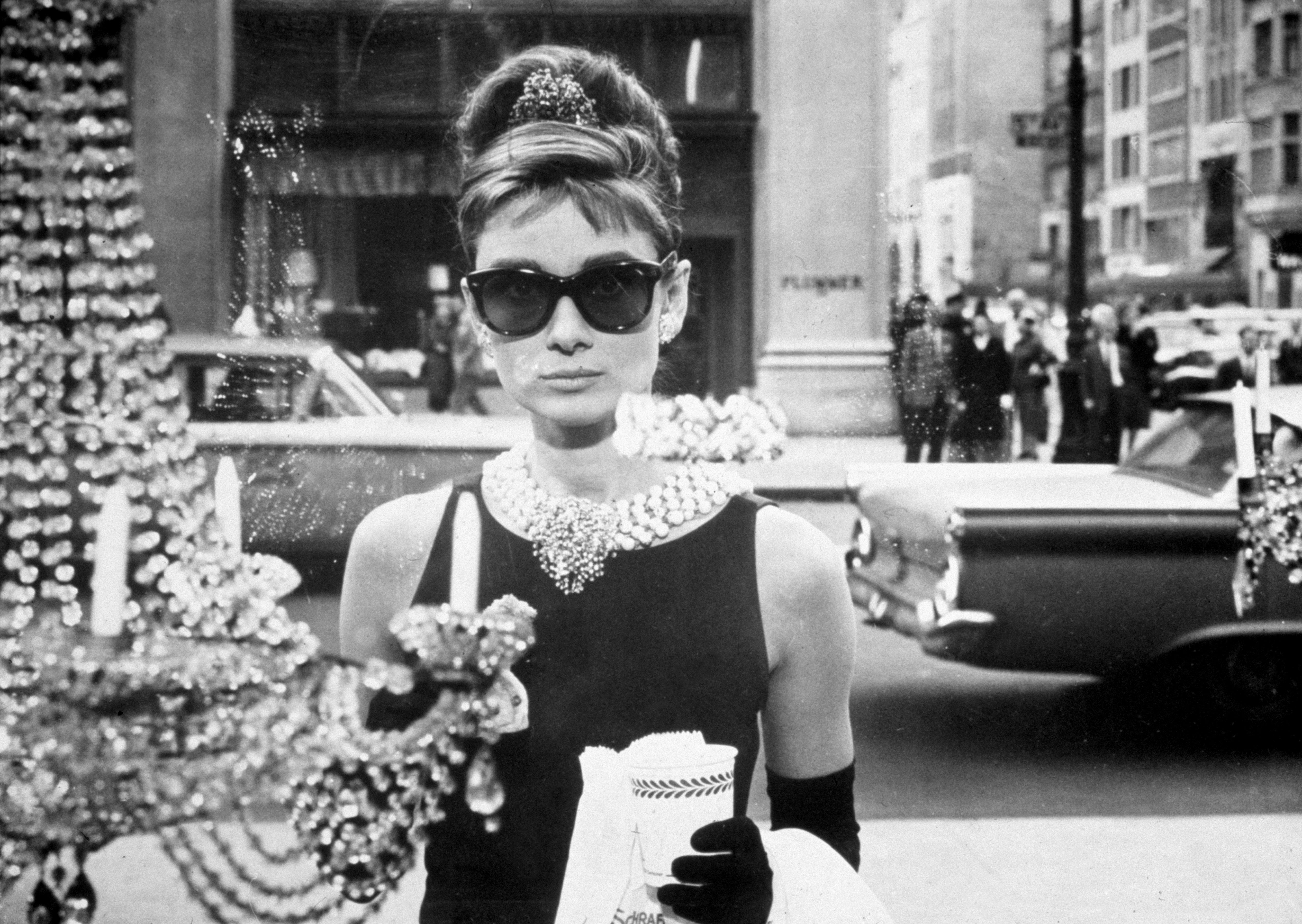 Audrey Hepburn 'Breakfast at Tiffany's,' fashion movie