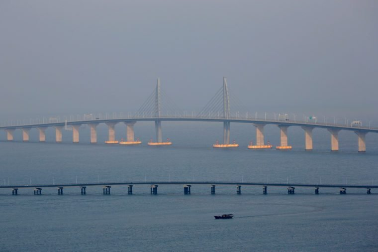 The Hong Kong-Zhuhai-Macau Bridge