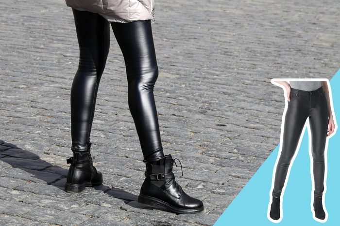 leather pants with inset of leather pants to buy