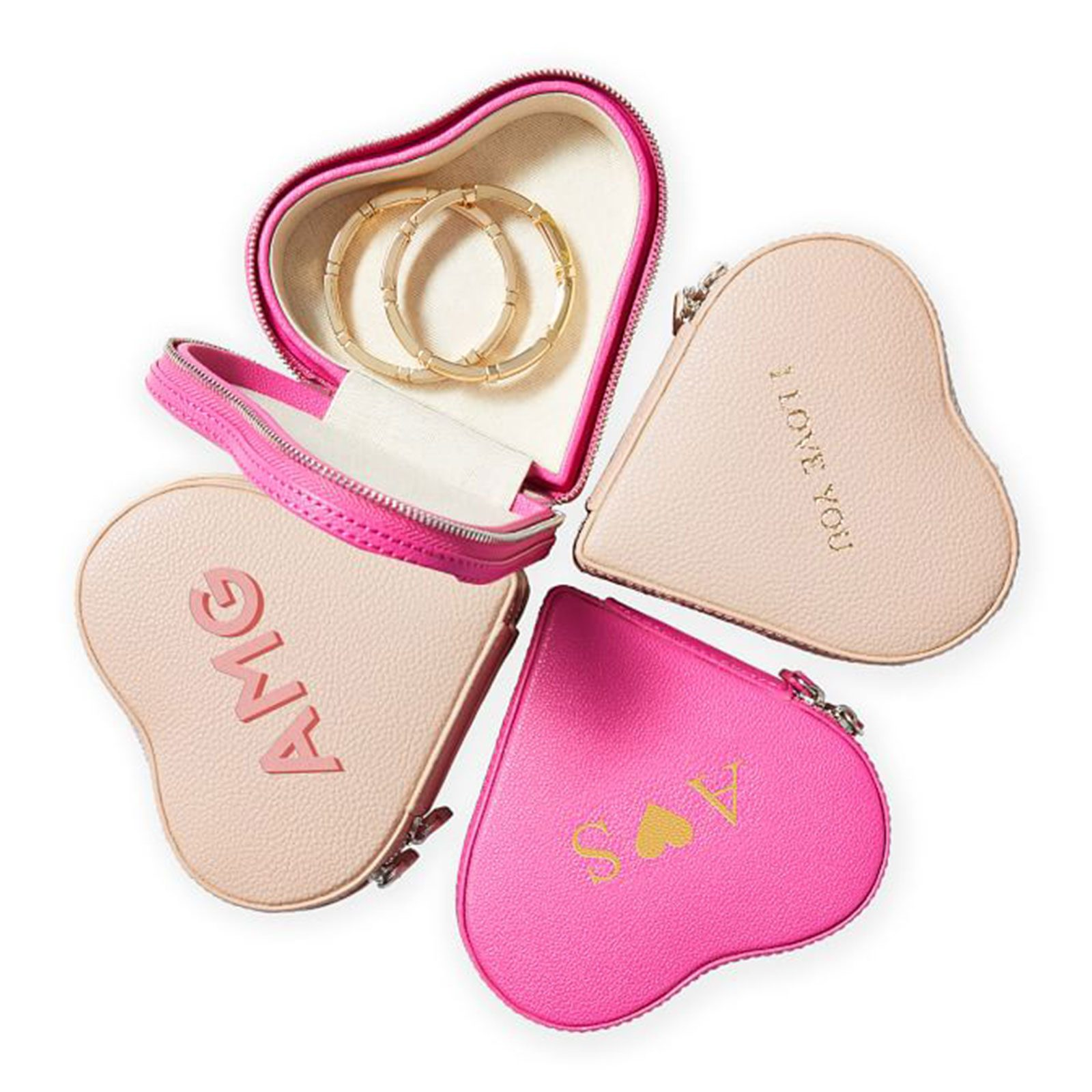 For the well-accessorized: Mark & Graham Heart Jewelry Case
