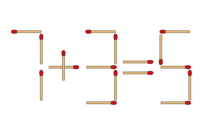 math with matches question illustration