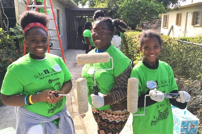 Branches Florida MLK day of service