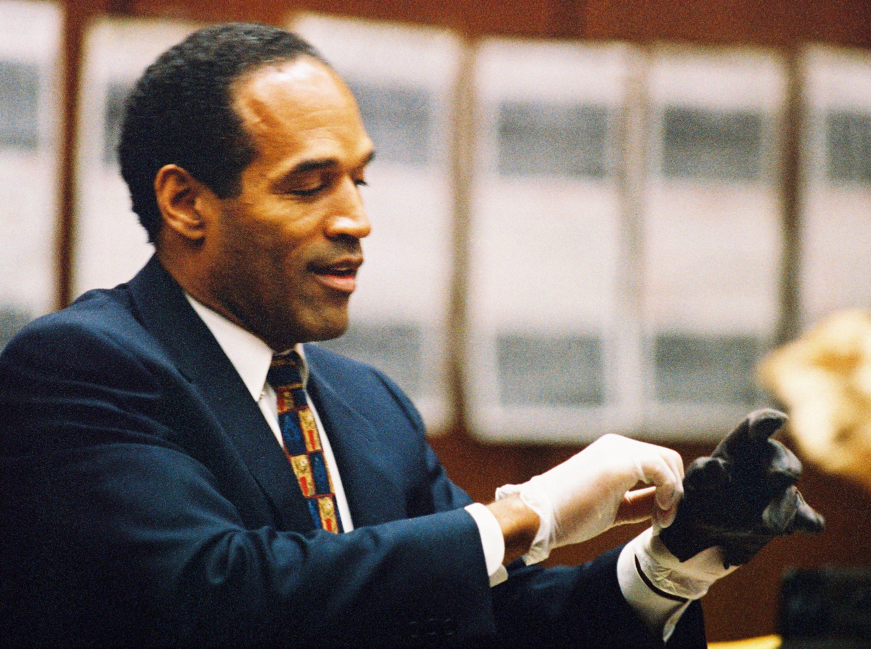 OJ simpson trial glove