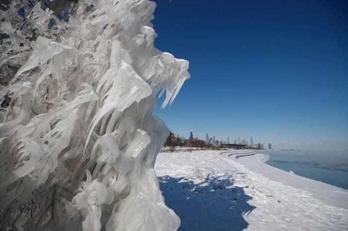 polar vortex ice