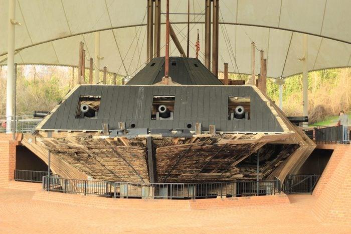 Battleship in Vicksburg, MS