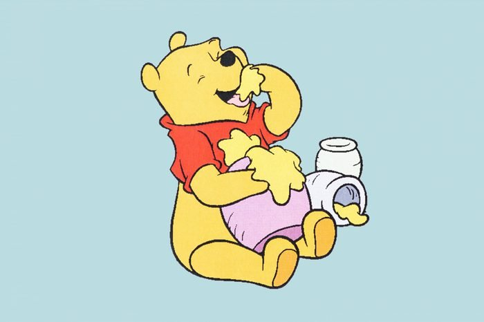 UBON RATCHATHANI, THAILAND - JANUARY 27, 2015: Winnie-the-Pooh printed on poster, Winnie-the-Pooh is a fictional anthropomorphic teddy bear created by A. A. Milne, Illustrative editorial.; Shutterstock ID 247528582