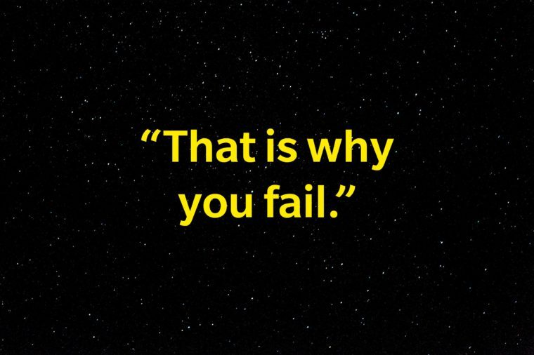 """""""That is why you fail""""."""