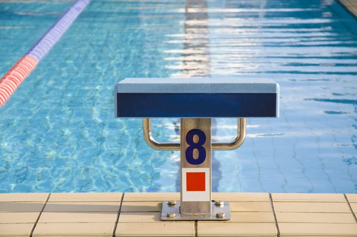 Starting point in a pool for championships