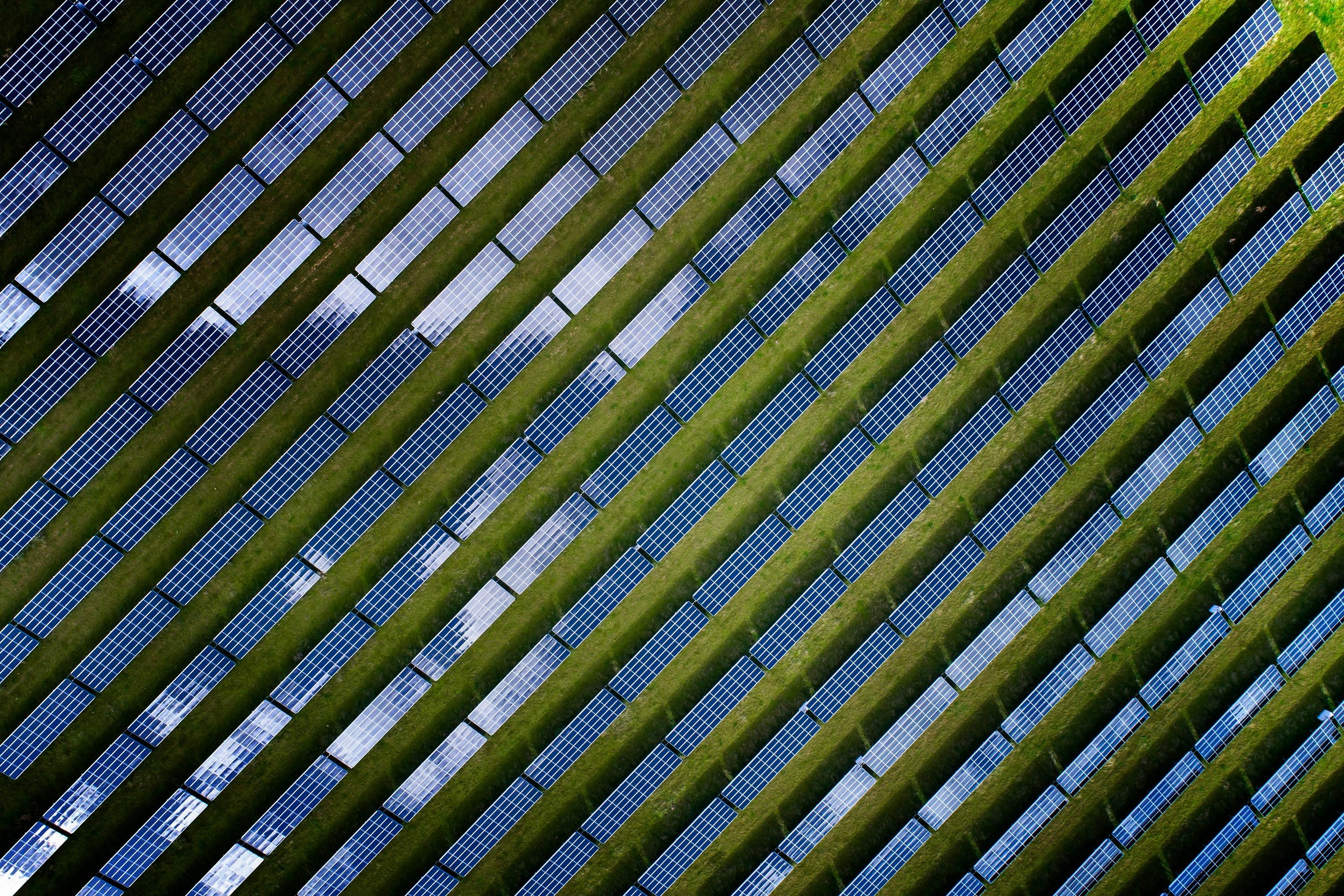 Solar power plant natural resources