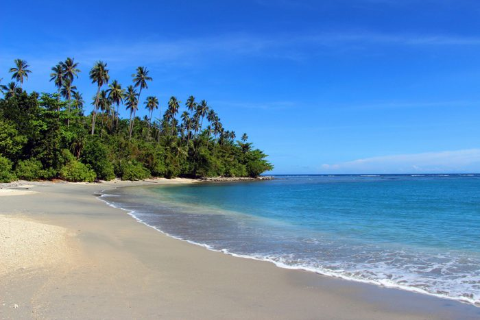 Tropical Beach, Solomon Islands, Honiara