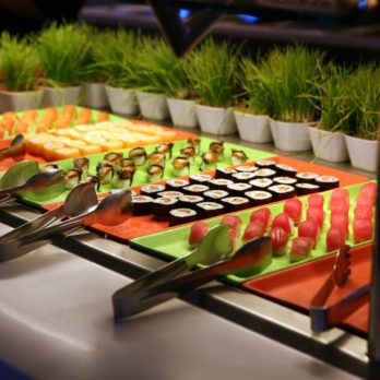 Why You Shouldn't Touch the Sushi at All-You-Can-Eat Buffets