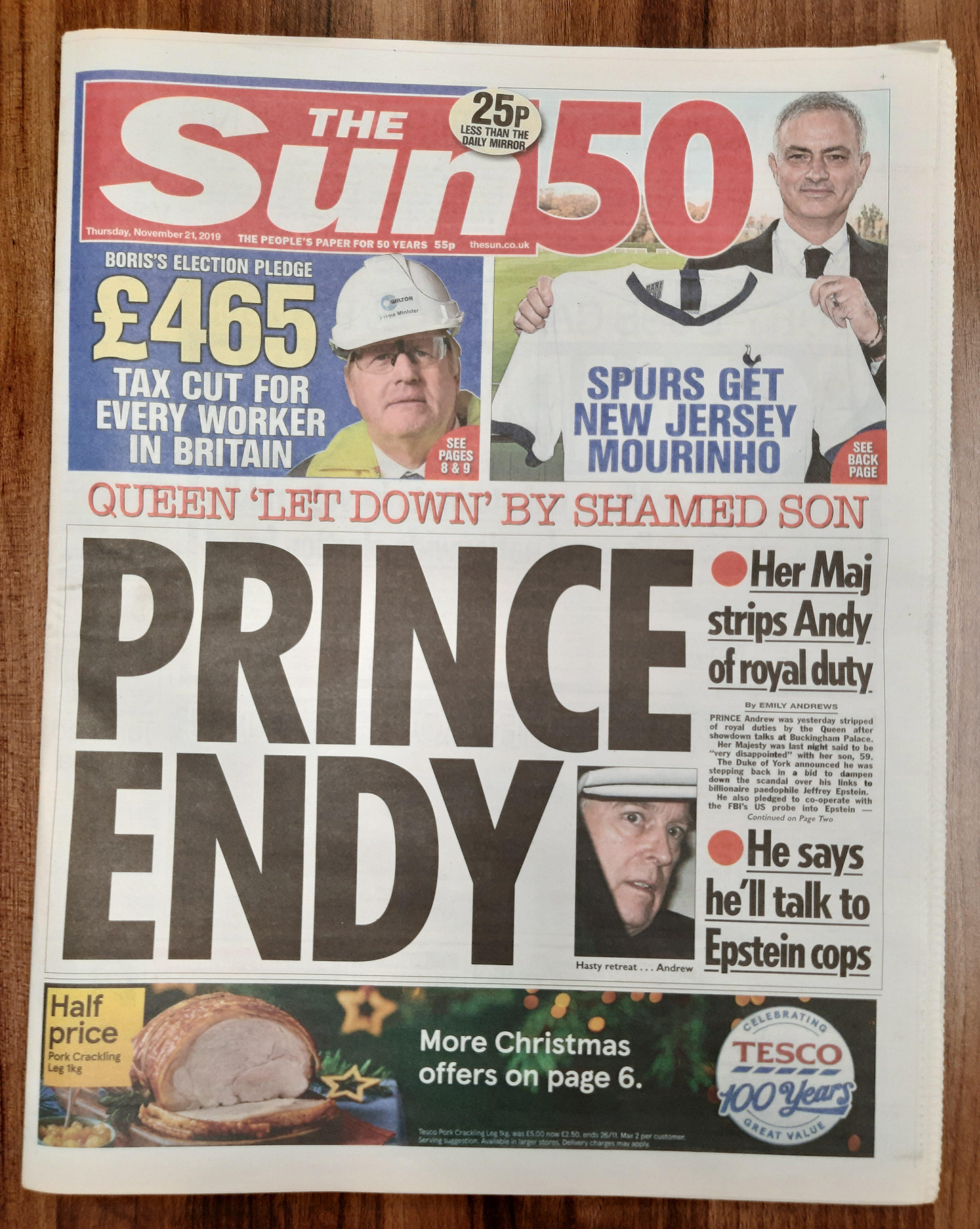 british sun newspaper