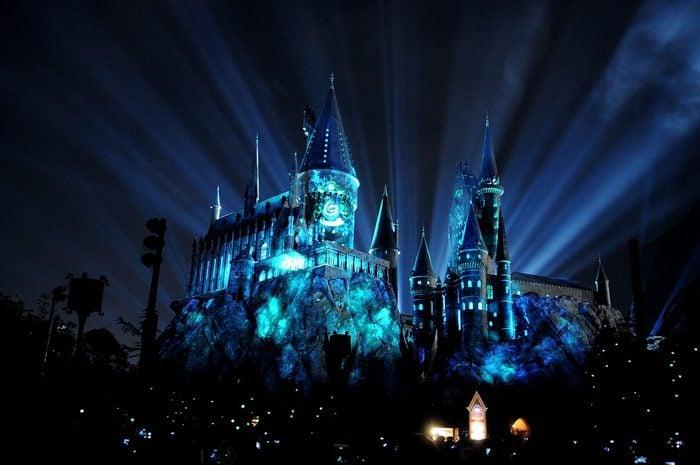 orlando wizarding world of harry potter hogwarts castle