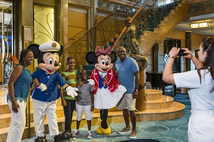 The Disney Wonder crew guests disney cruise line
